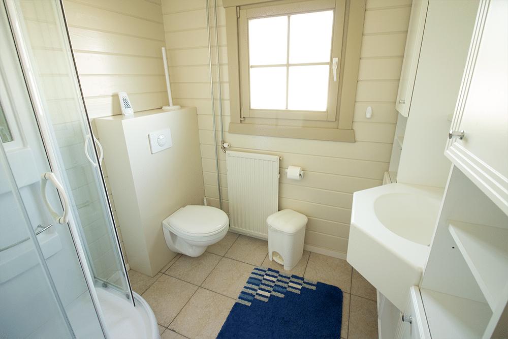 Vakantiehuisje Zeeland 6 personen - badkamer